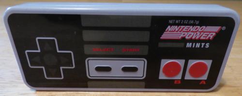 Nintendo retro tin