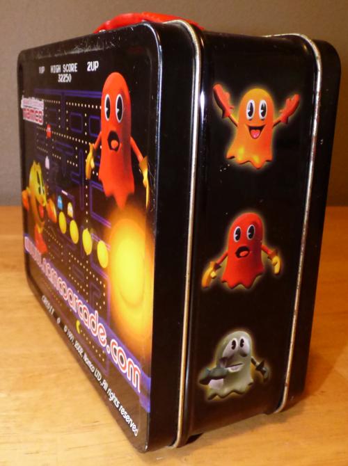 Pacman tin lunchbox 2