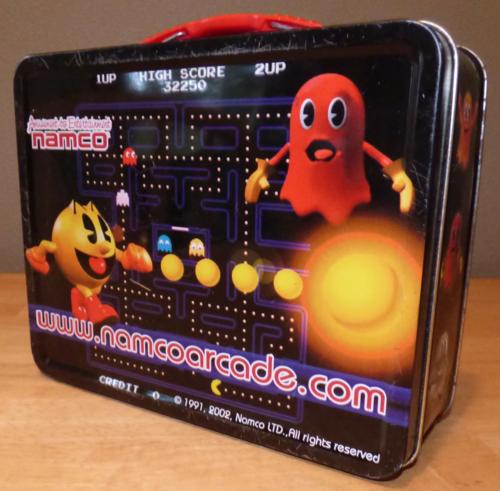 Pacman tin lunchbox 1