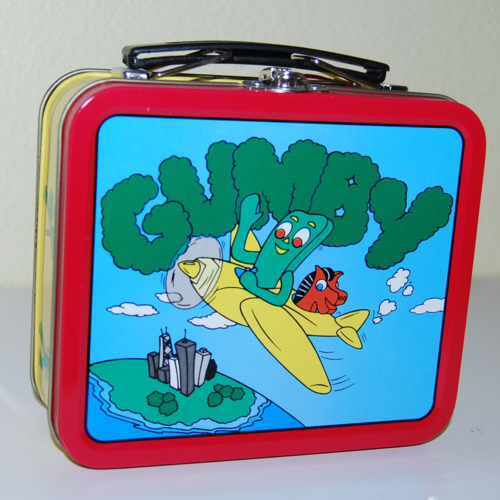 Gumby mini tin lunchbox