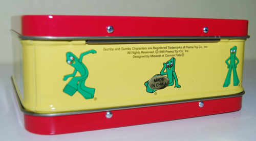 Gumby mini tin lunchbox 1