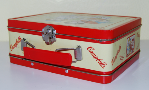 Campbell's  tin lunchbox 1
