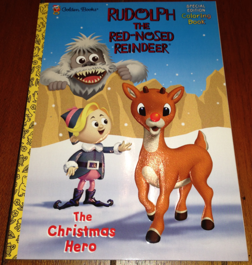 Rudolph coloring book