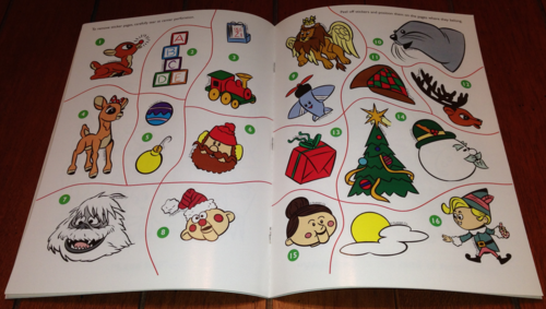 Rudolph sticker book x