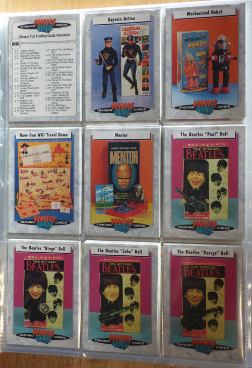 Classic toys trading cards 4