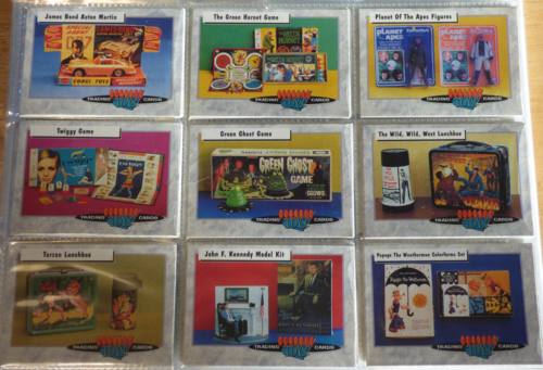Classic toys trading cards 5