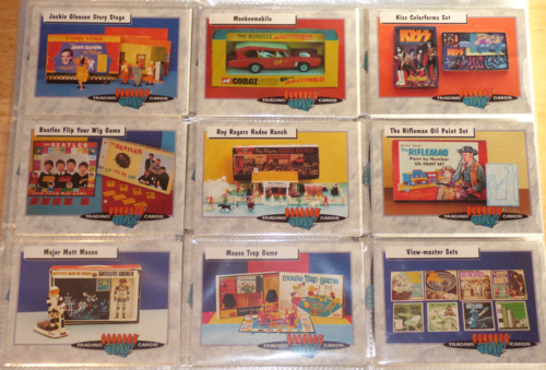 Classic toys trading cards 7