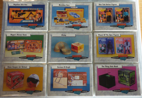 Classic toys trading cards 3