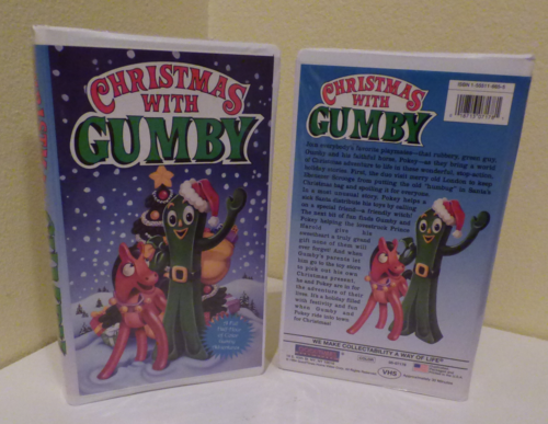 Christmas with gumby vhs