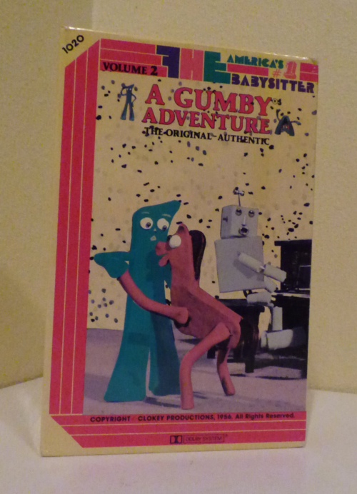 A gumby adventure fhe vhs