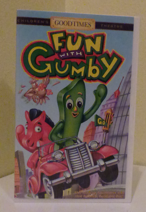 Fun with gumby 1 vhs