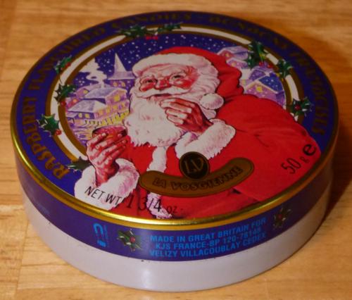 Raspberry santa tin 1