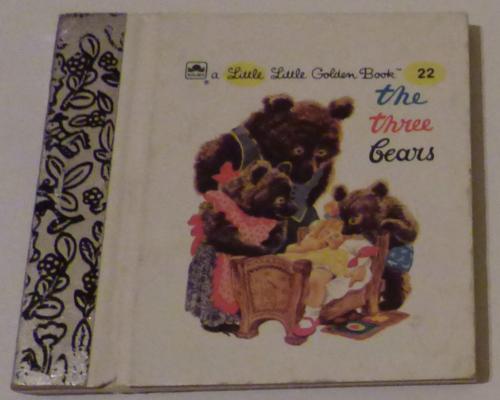 Little little golden book the 3 bears