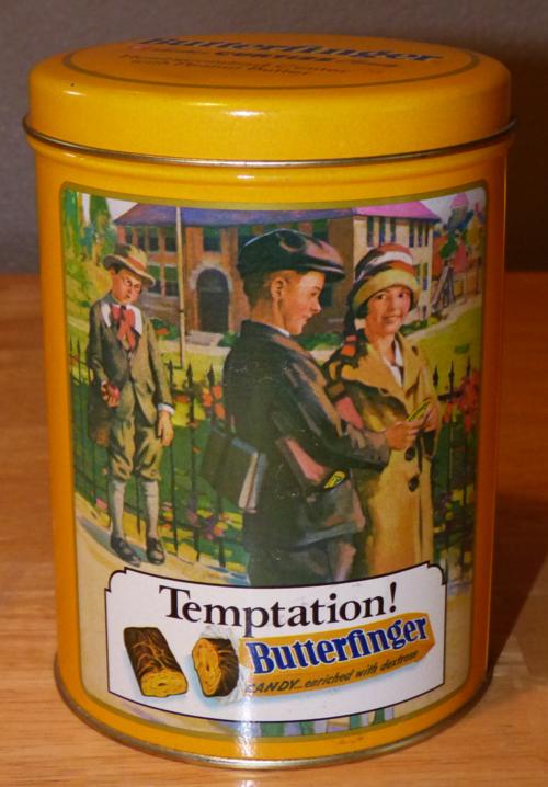 Butterfinger tin 1