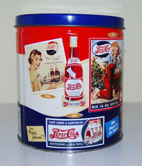 Pepsi cola tin 2
