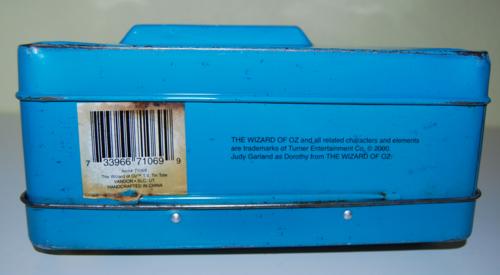 Wizard of oz tin lunchbox x