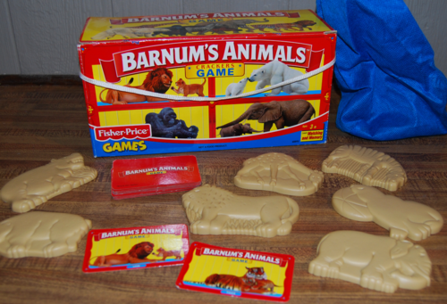 Barnum's animal crackers game
