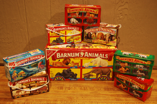 Vintage barnum's animal crackers
