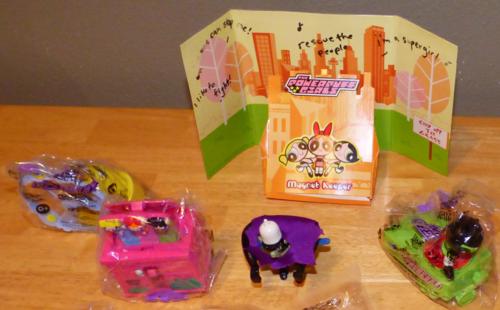 Powerpuff girls toys 3