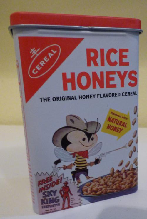 Rice honies tin