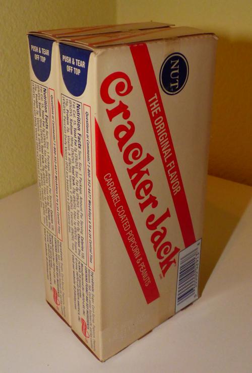 Retro cracker jacks x