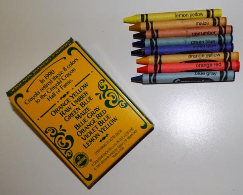 Crayola collector crayons 1