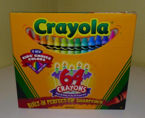 Crayola 64 anniversary box