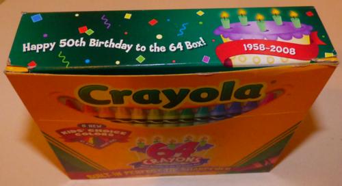Crayola 64 anniversary box 1