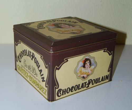 Chocolat poullain tin
