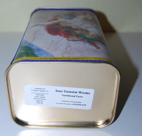 Vatican collection creation of adam tin