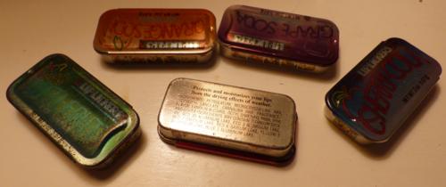 Lip lickers tins