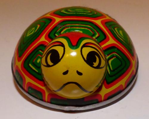 Tin turtle toy x