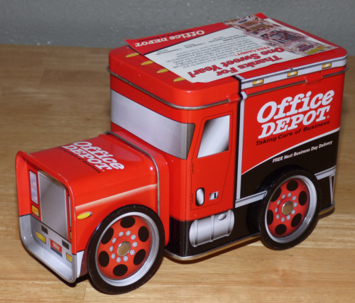 Office depot tin truck