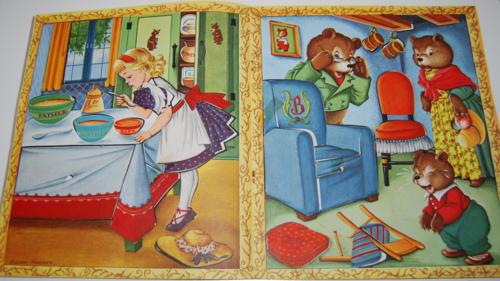 The three bears sticker fun 3