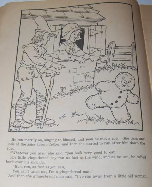 Gingerbread boy paint book 2
