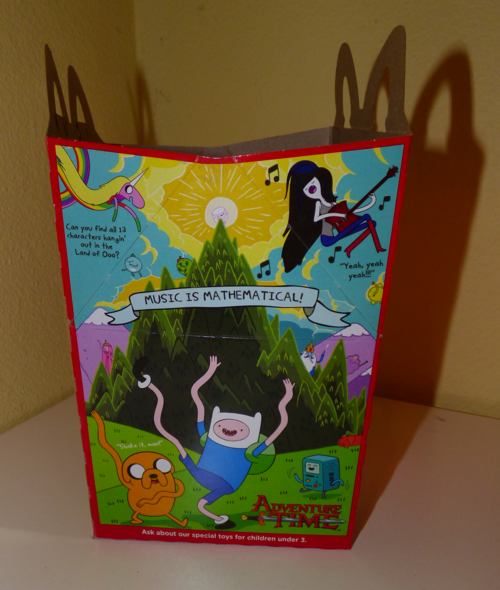 Mcdonalds adventure time happy meal