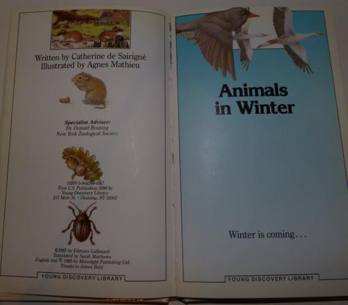 Animals in winter 1985 2