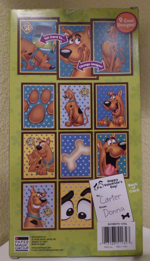 Scooby doo valentines 1
