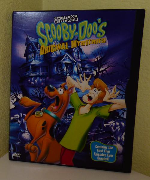 Scooby doo mysteries dvd