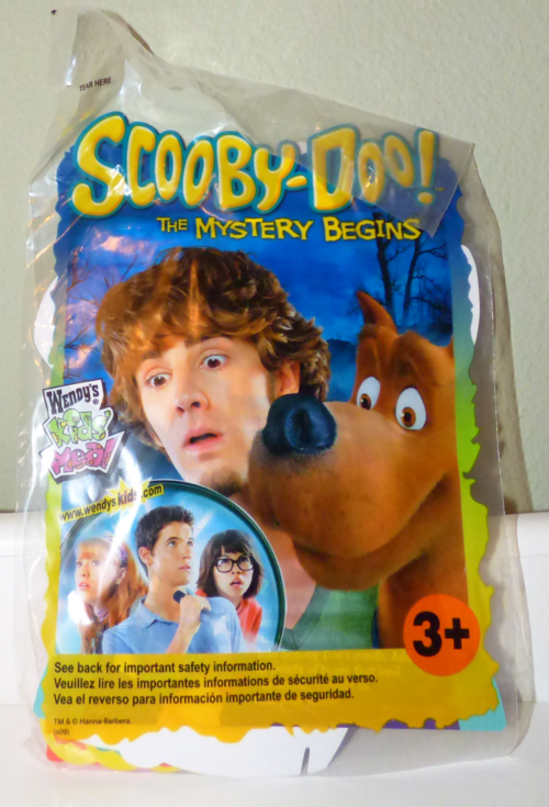 Scooby doo wendy's prizes 1