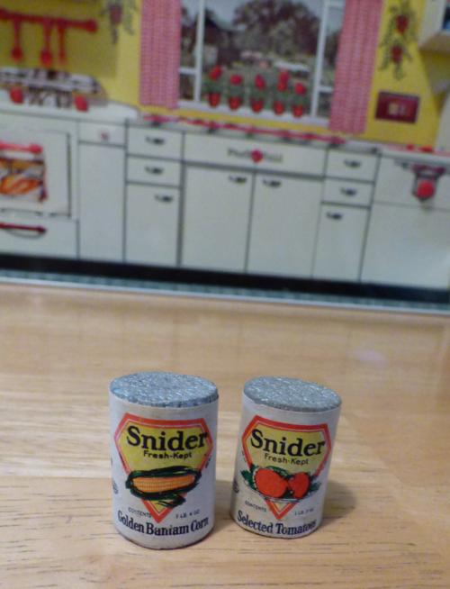 Vintage toy food