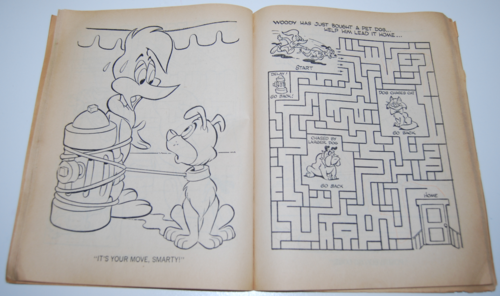 Woody woodpecker coloring book 3