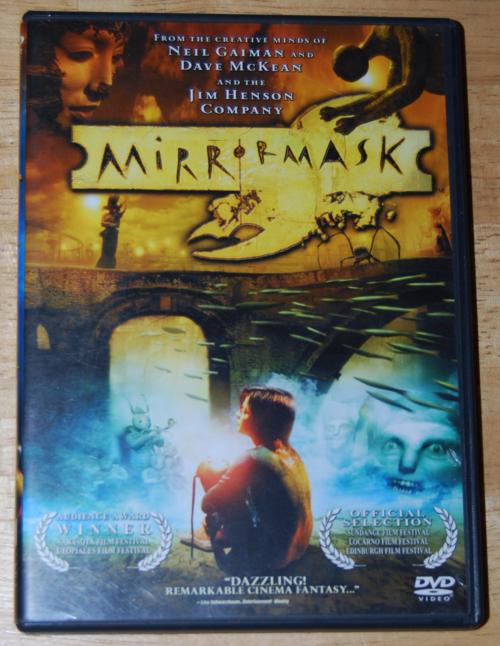 Mirrormask dvd