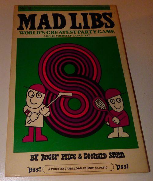 Vintage madlibs 12