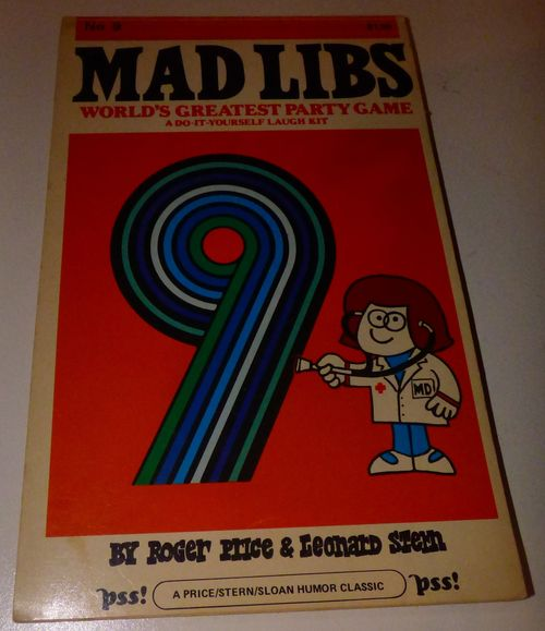 Vintage madlibs 16