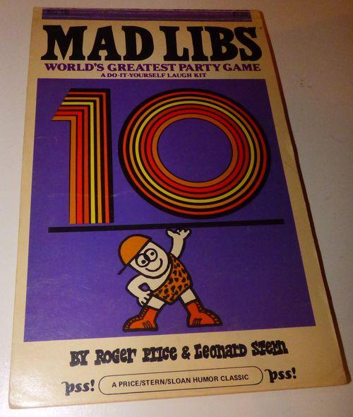 Vintage madlibs 19