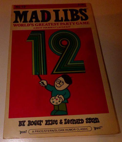 Vintage madlibs 22