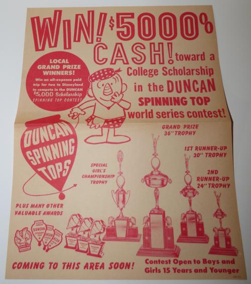 Duncan contest 1964