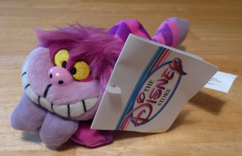 Mini cheshire cat plush 1