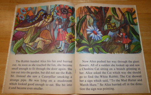 Alice in wonderland learn to read 4